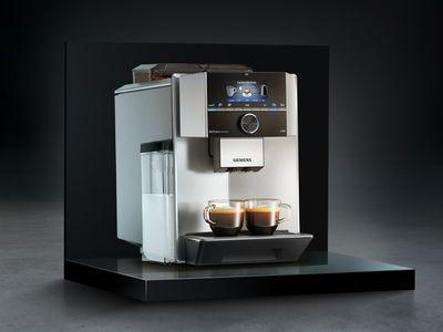 西门子现煮咖啡机和嵌入式咖啡机