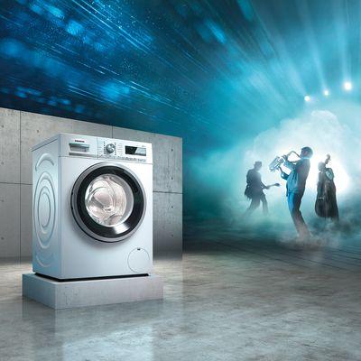 带 智感清新功能 的洗衣机无需洗涤即可去除异味